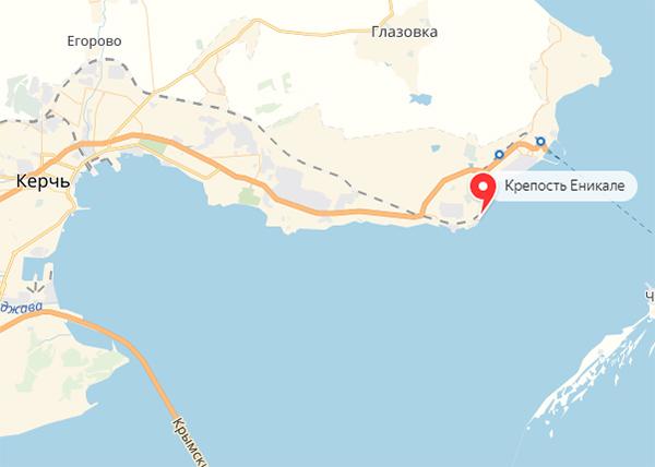 Экспедиции к выпаривателям родниковой воды - Страница 17 Kerch_krepost_enikale_karta