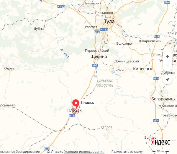 Экспедиции к выпаривателям родниковой воды - Страница 19 Plavsk_karta
